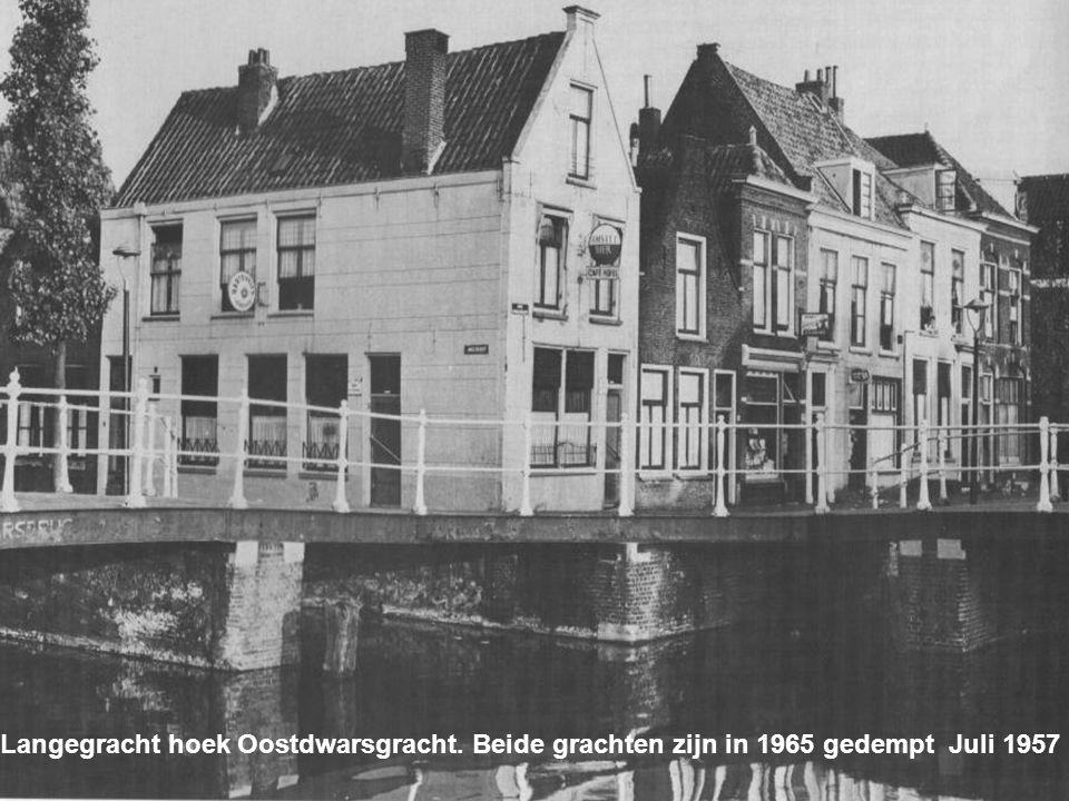 Langegracht hoek Oostdwarsgracht