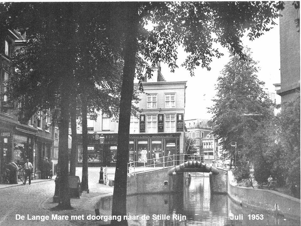 De Lange Mare met doorgang naar de Stille Rijn Juli 1953