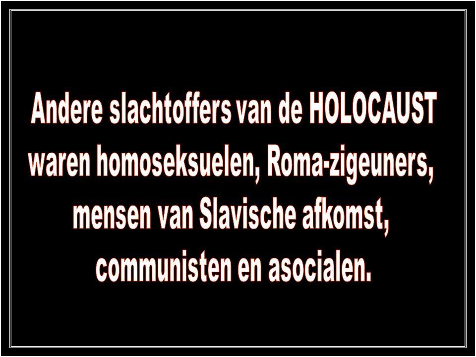 Andere slachtoffers van de HOLOCAUST