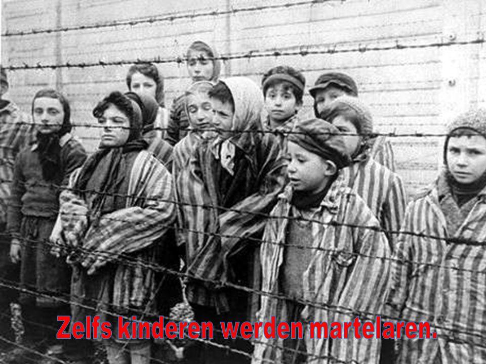 Zelfs kinderen werden martelaren.