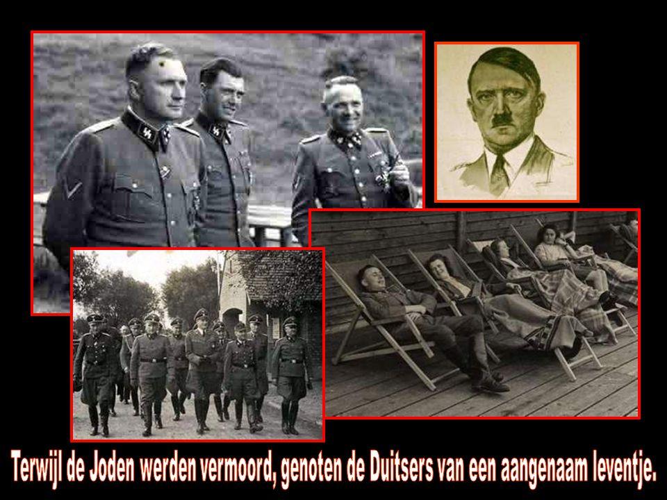 Terwijl de Joden werden vermoord, genoten de Duitsers van een aangenaam leventje.