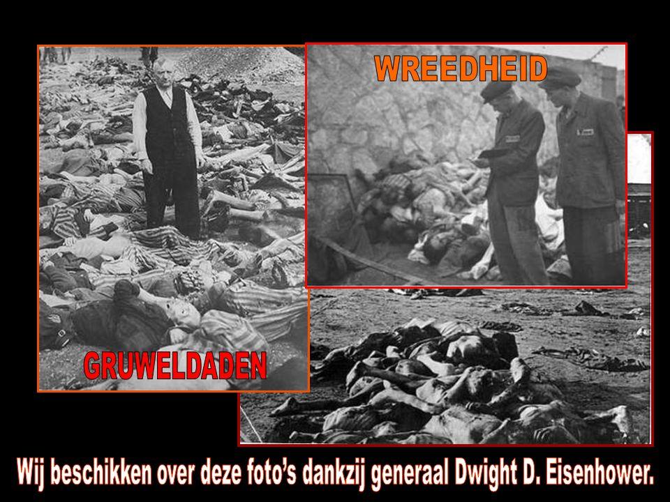 Wij beschikken over deze foto's dankzij generaal Dwight D. Eisenhower.