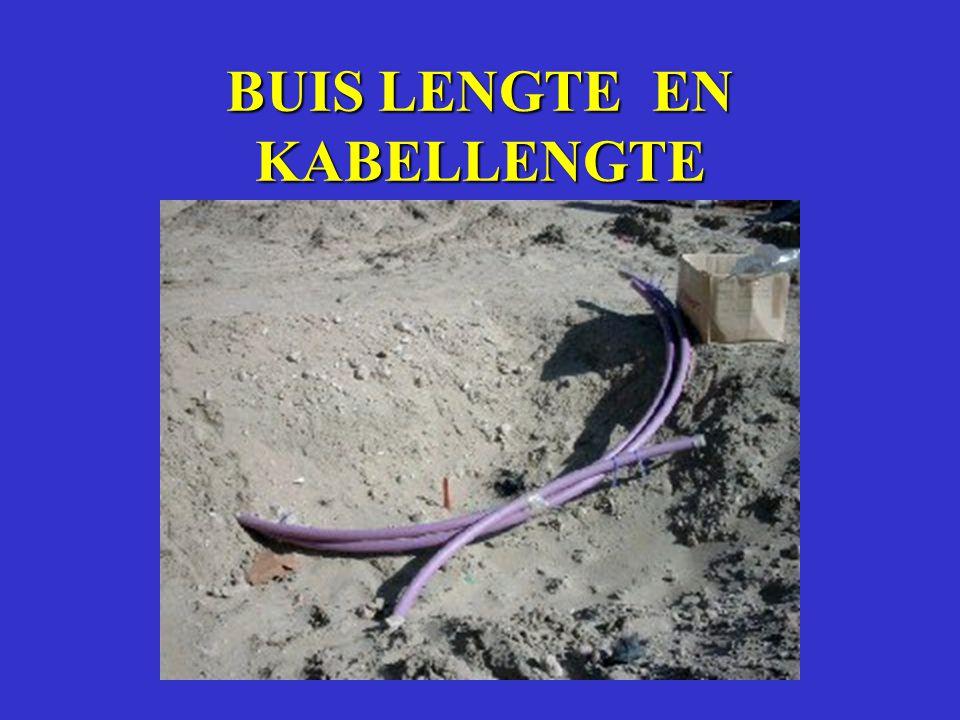 BUIS LENGTE EN KABELLENGTE