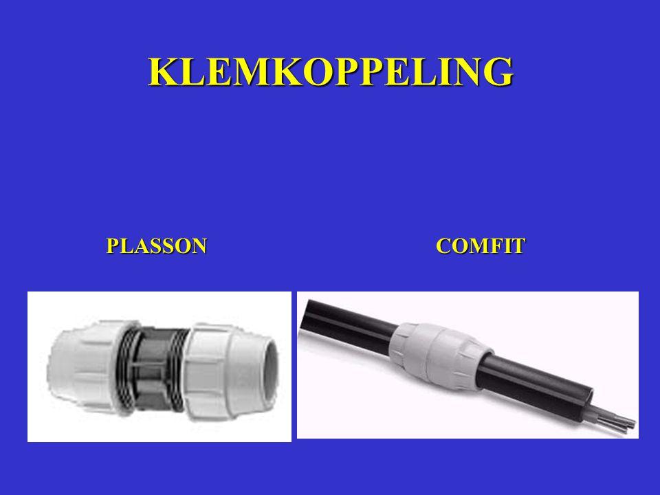 KLEMKOPPELING PLASSON COMFIT