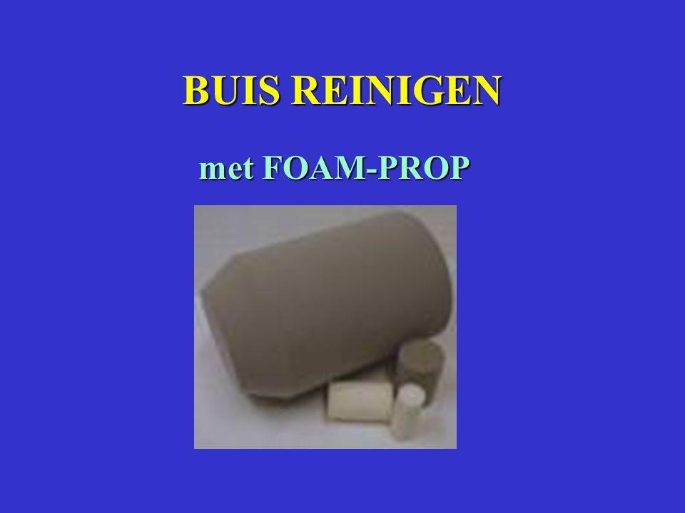 BUIS REINIGEN met FOAM-PROP