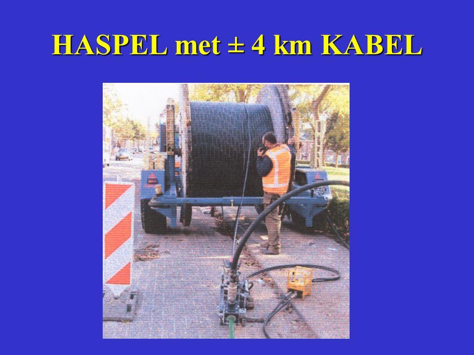 HASPEL met ± 4 km KABEL