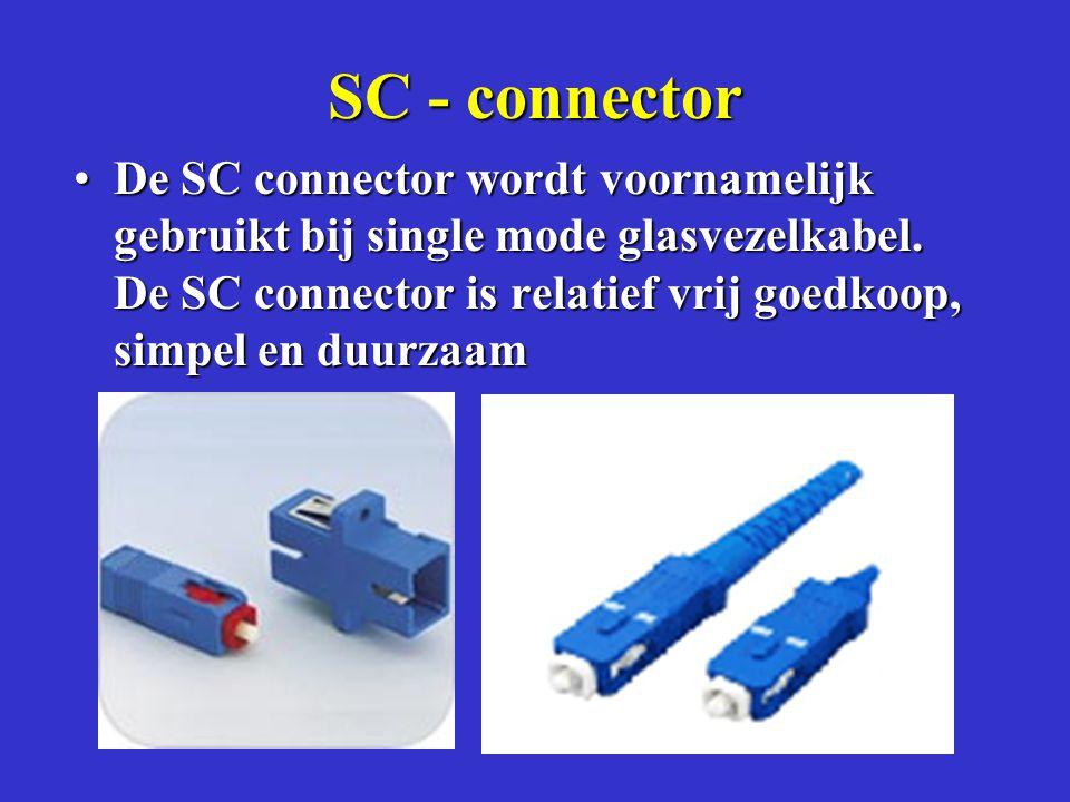 SC - connector