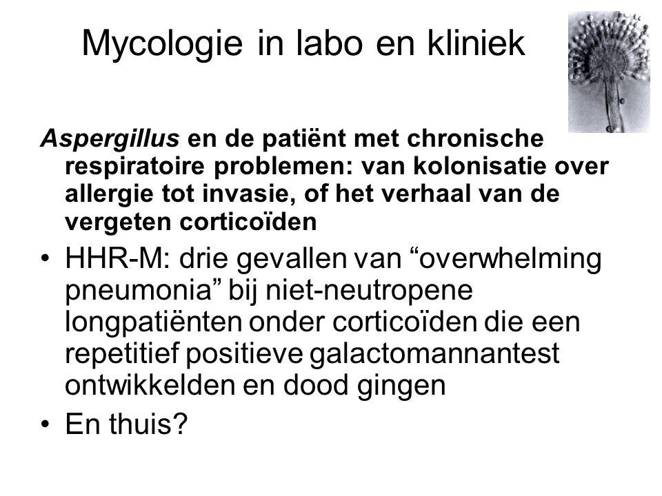 Mycologie in labo en kliniek