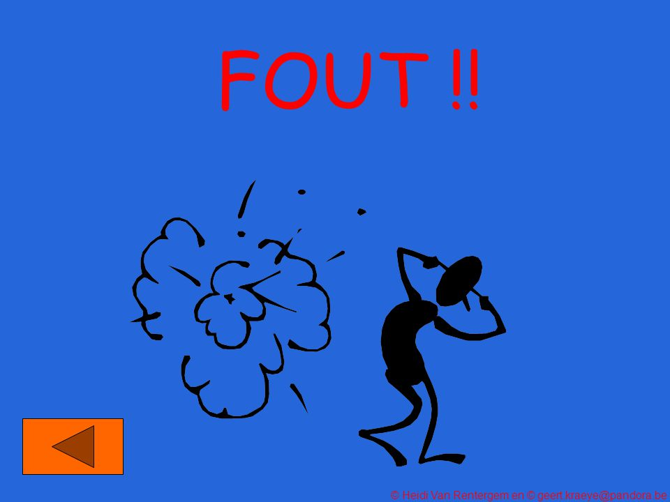 FOUT !!