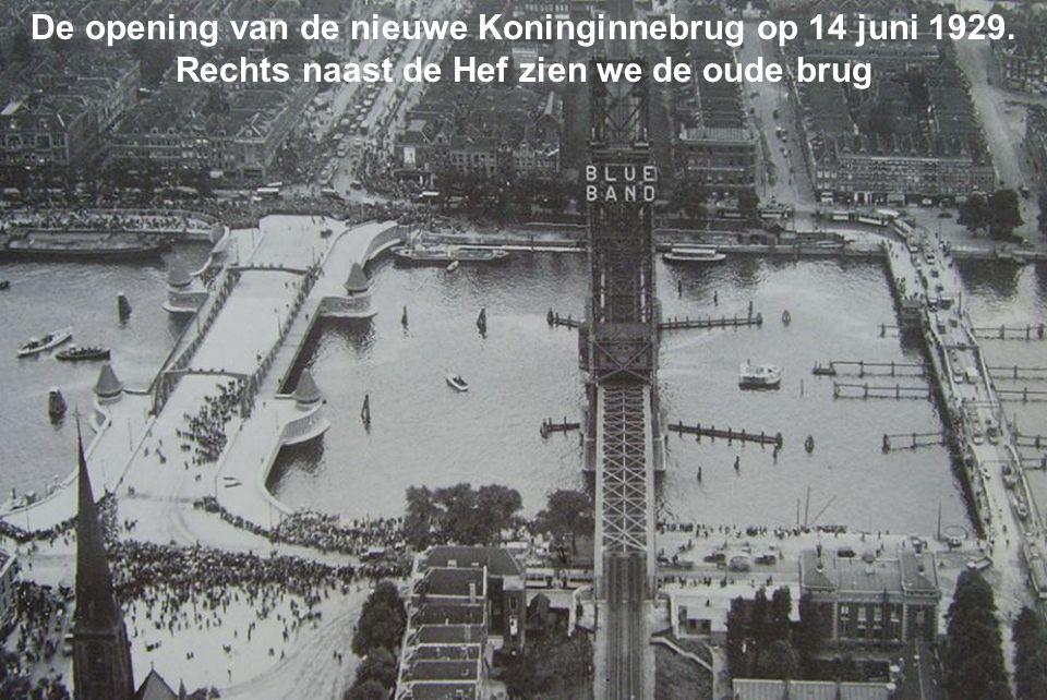 De opening van de nieuwe Koninginnebrug op 14 juni 1929