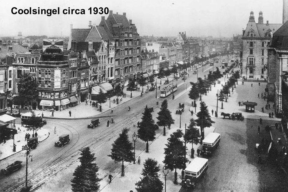 Coolsingel circa 1930