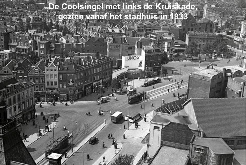 De Coolsingel met links de Kruiskade,