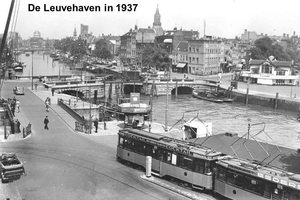 De Leuvehaven in 1937