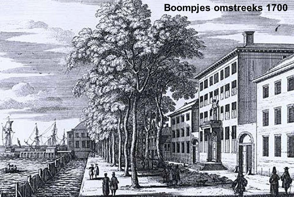 Boompjes omstreeks 1700
