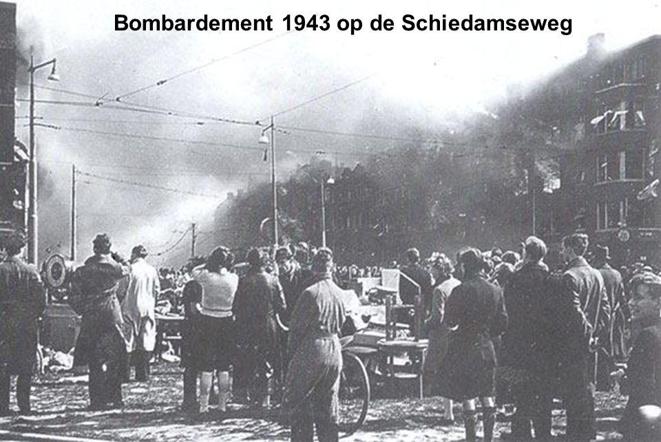 Bombardement 1943 op de Schiedamseweg
