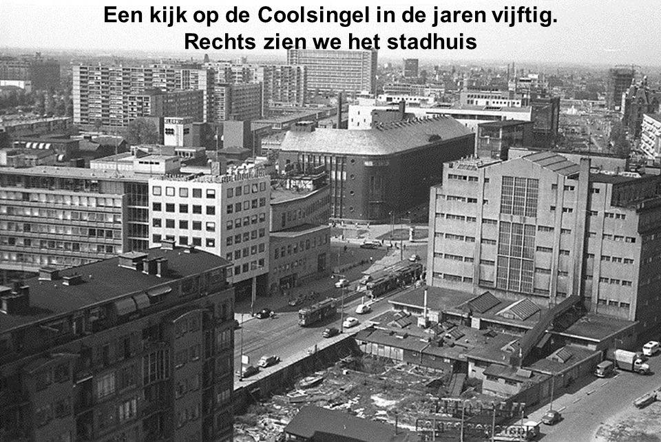 Een kijk op de Coolsingel in de jaren vijftig.