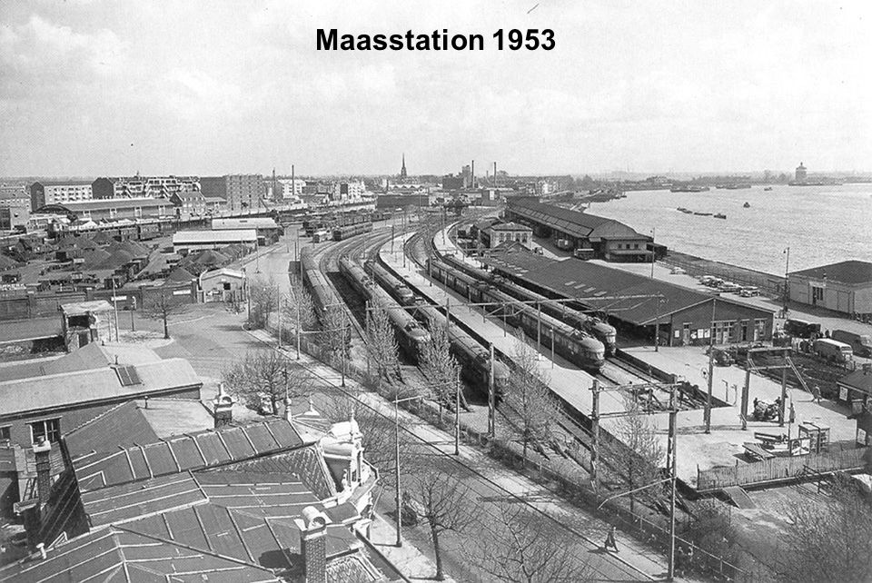 Maasstation 1953