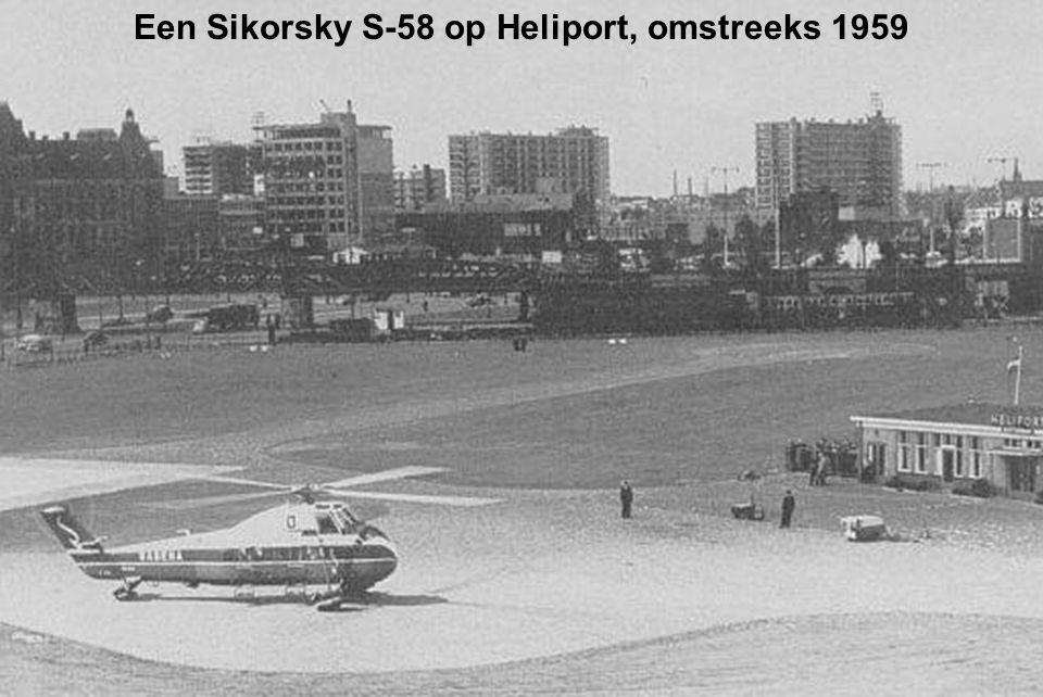 Een Sikorsky S-58 op Heliport, omstreeks 1959