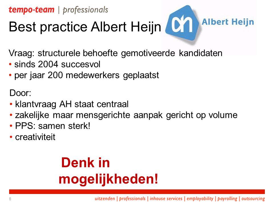Best practice Albert Heijn