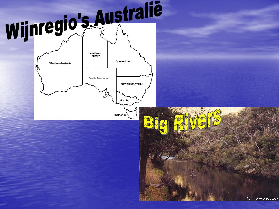 Wijnregio s Australië Big Rivers