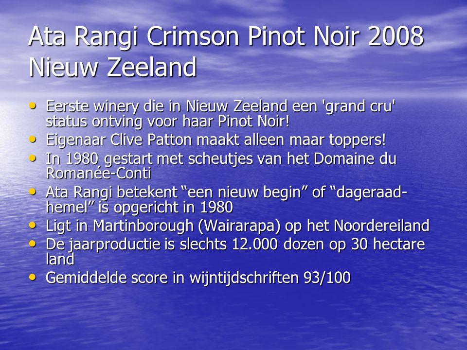 Ata Rangi Crimson Pinot Noir 2008 Nieuw Zeeland