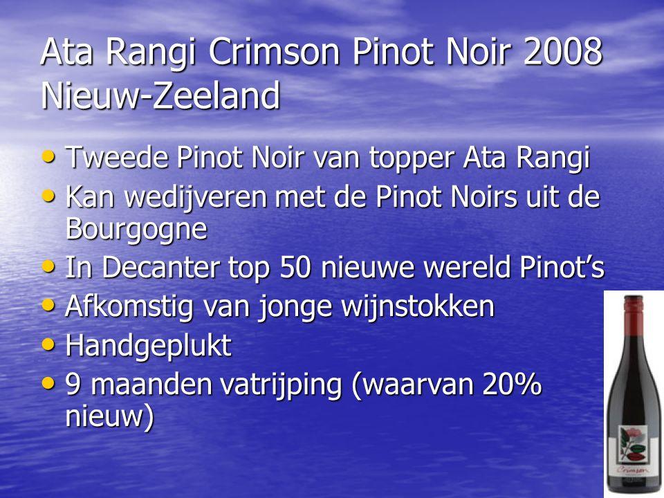 Ata Rangi Crimson Pinot Noir 2008 Nieuw-Zeeland