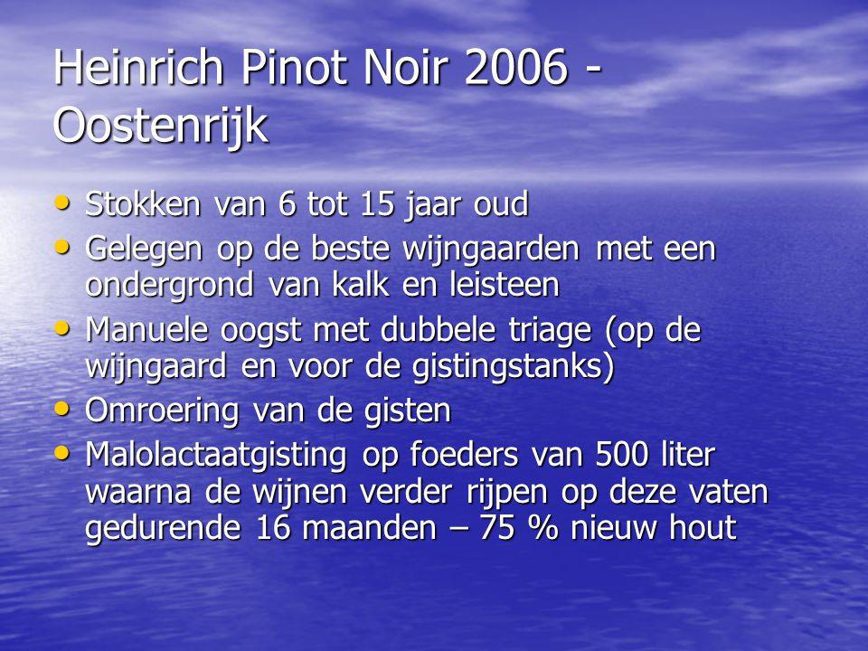 Heinrich Pinot Noir 2006 - Oostenrijk