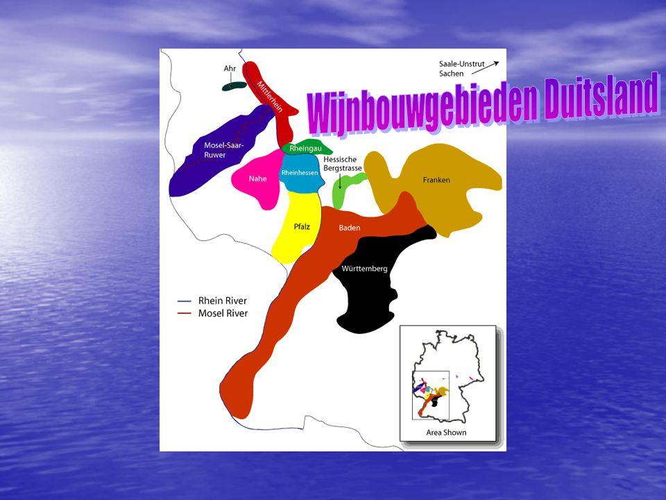 Wijnbouwgebieden Duitsland