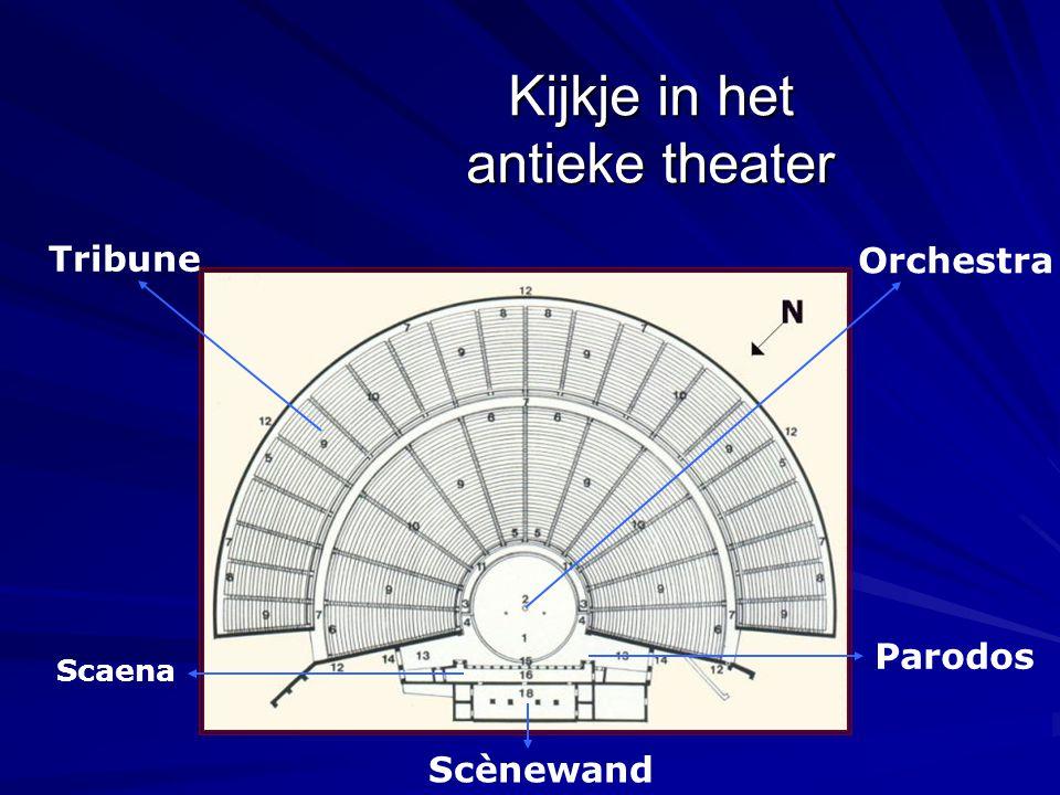 Kijkje in het antieke theater