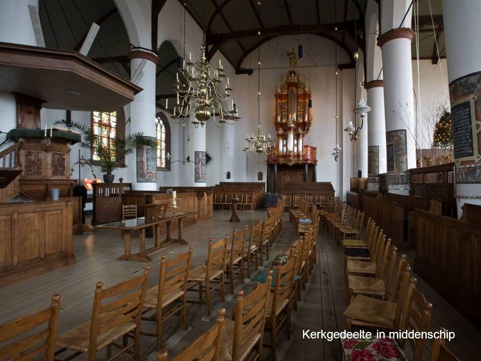 Kerkgedeelte in middenschip
