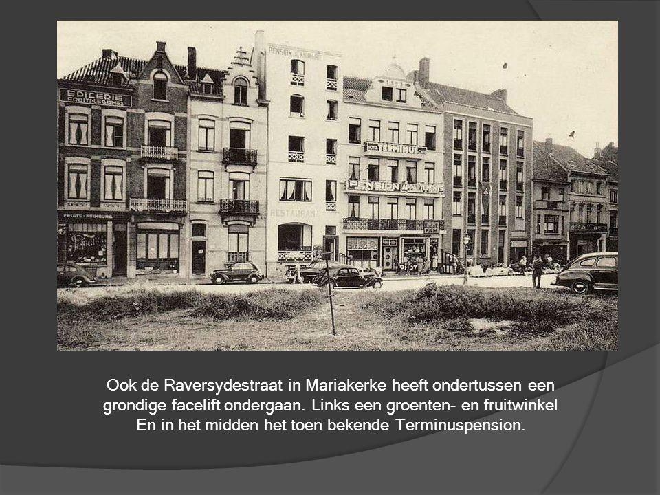 Ook de Raversydestraat in Mariakerke heeft ondertussen een