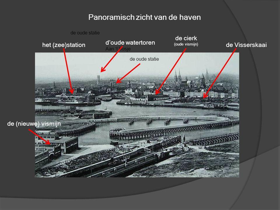 Panoramisch zicht van de haven