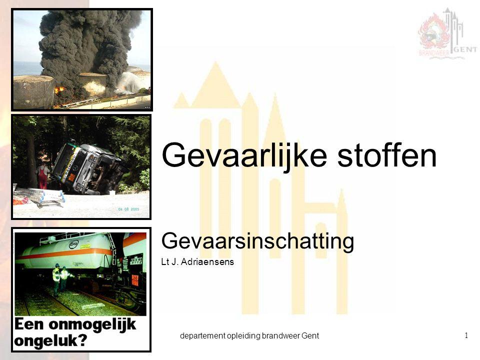 Gevaarsinschatting Lt J. Adriaensens