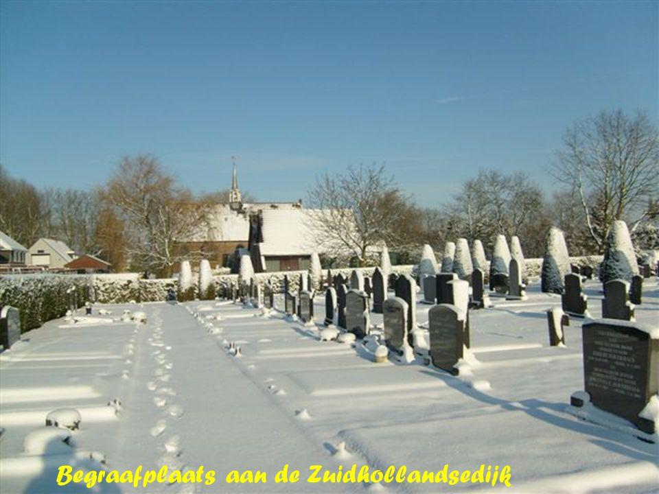 Begraafplaats aan de Zuidhollandsedijk