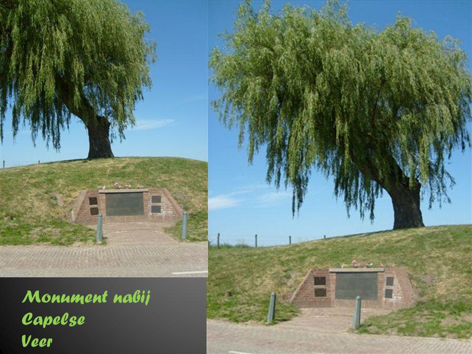 Monument nabij Capelse Veer Liesbos in Breda