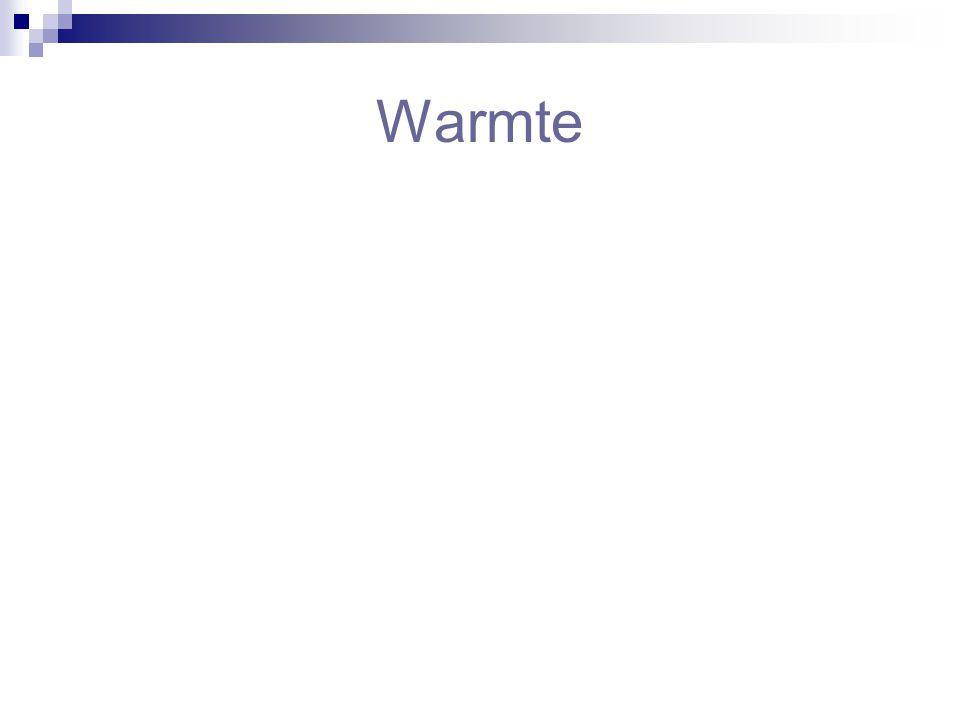 Warmte