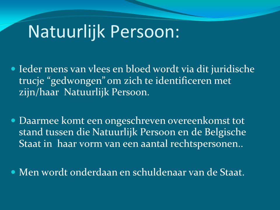 Natuurlijk Persoon: