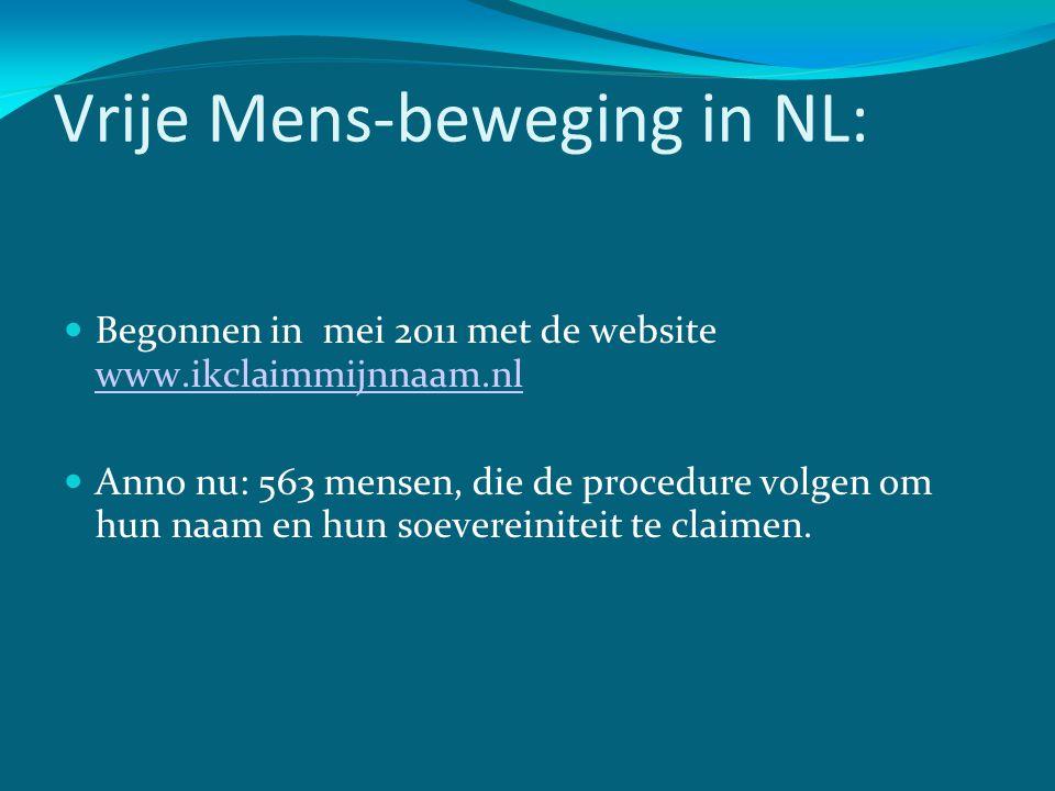 Vrije Mens-beweging in NL: