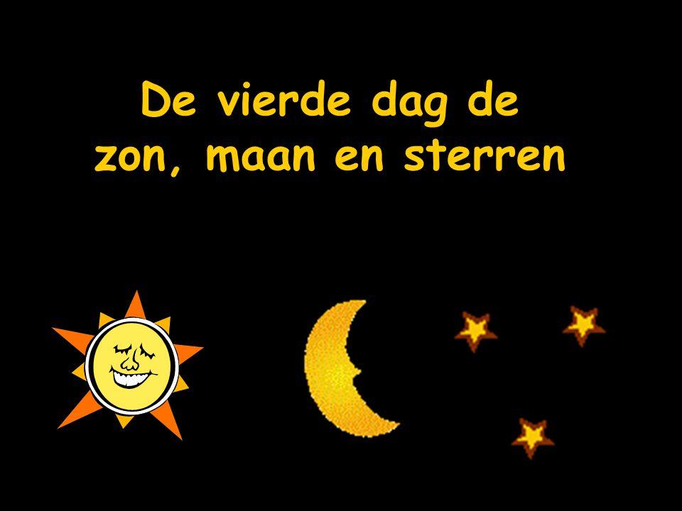 De vierde dag de zon, maan en sterren
