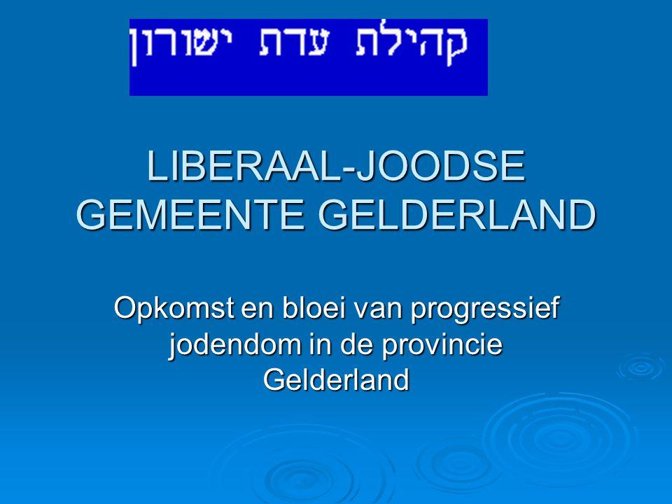 LIBERAAL-JOODSE GEMEENTE GELDERLAND