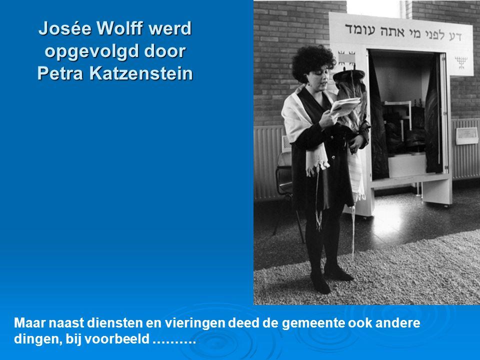 Josée Wolff werd opgevolgd door Petra Katzenstein