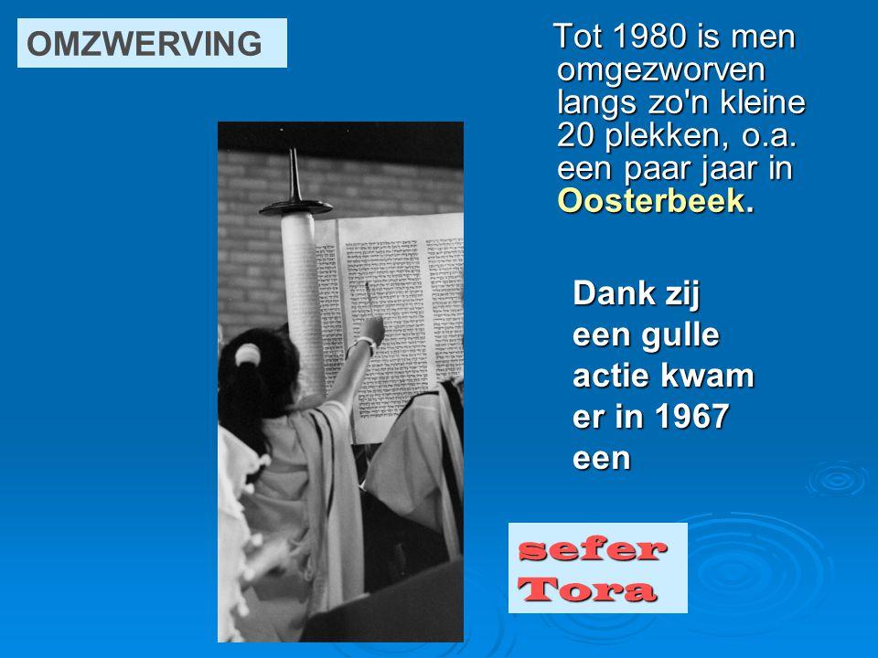 OMZWERVING Tot 1980 is men omgezworven langs zo n kleine 20 plekken, o.a. een paar jaar in Oosterbeek.
