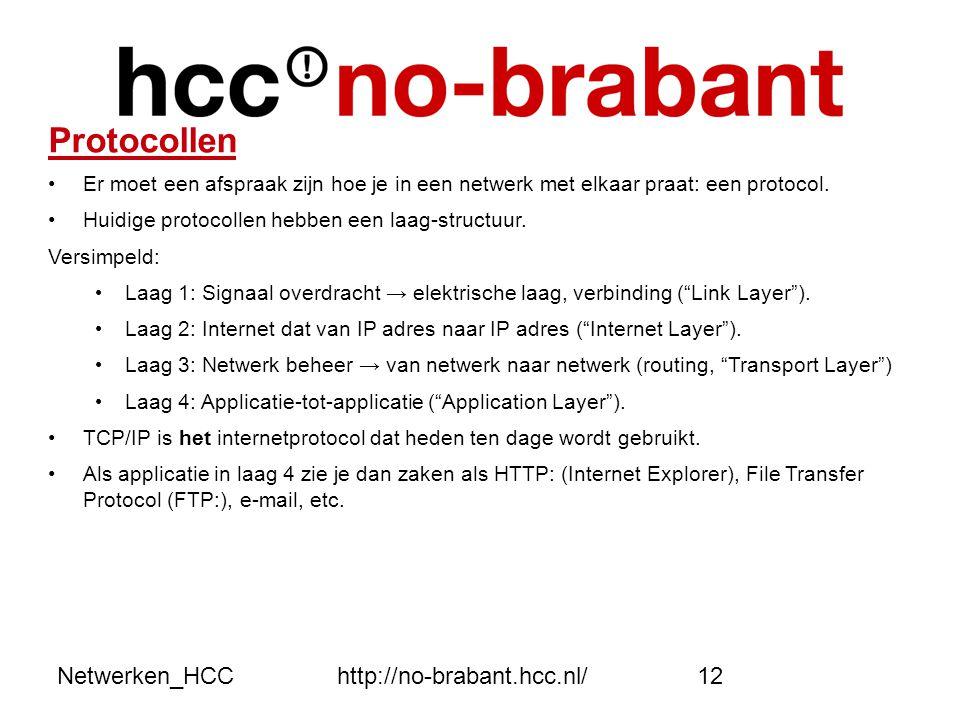 Protocollen Netwerken_HCC http://no-brabant.hcc.nl/