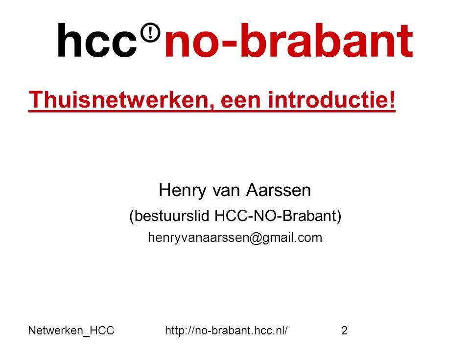 (bestuurslid HCC-NO-Brabant)