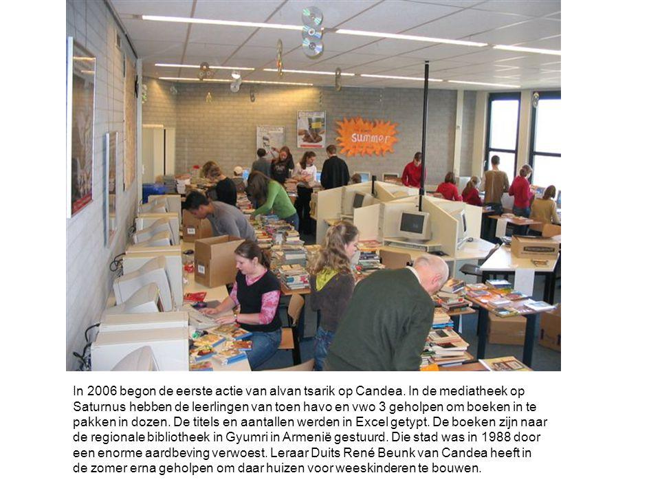 In 2006 begon de eerste actie van alvan tsarik op Candea
