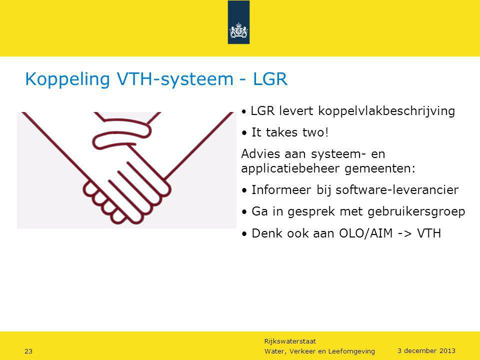 Koppeling VTH-systeem - LGR