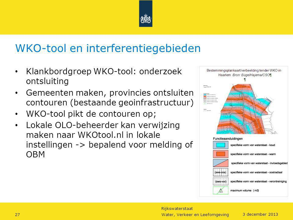 WKO-tool en interferentiegebieden