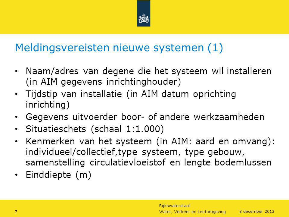 Meldingsvereisten nieuwe systemen (1)