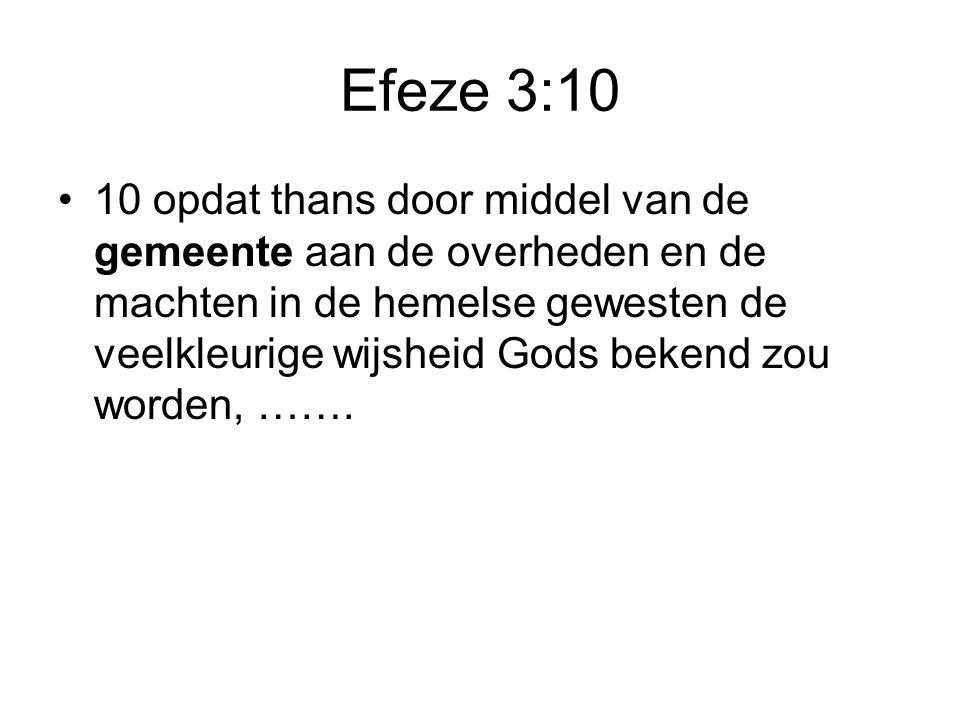 Efeze 3:10