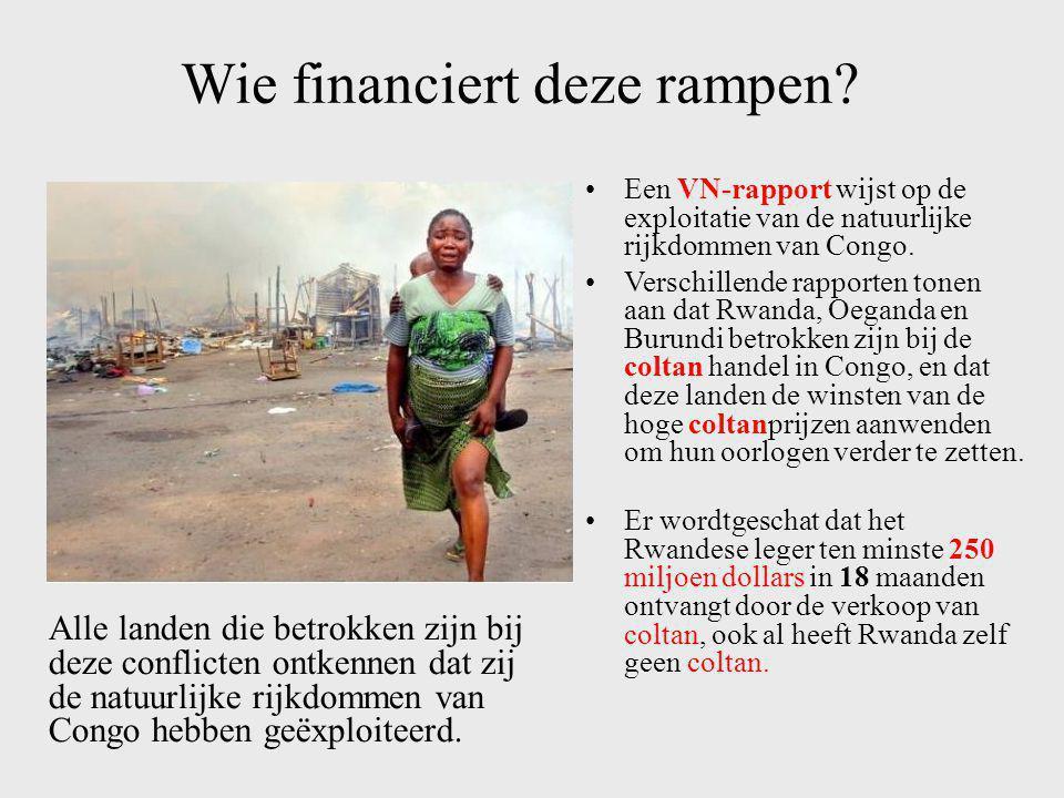 Wie financiert deze rampen